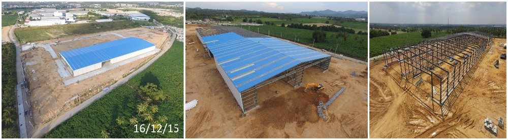 Easy to install and low cost steel structure construction steel warehouse/steel workshop by CE certifiction