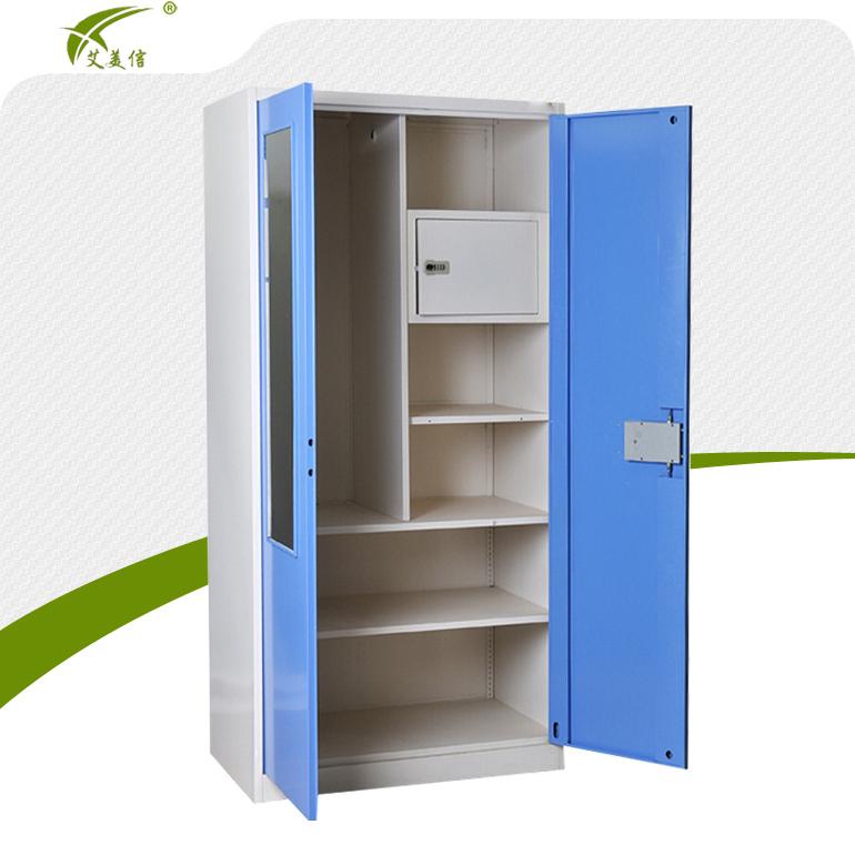 new arrival simple cupboard design different colour steel almirah
