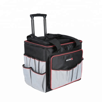 Ironland Brand Trolley Rolling Tool Bag Tote Bags Wheels Electrician With Product On Alibaba