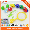 Plastic Magnetic Fishing Toys Set Game Children Magnet Fish Hooks Indoor Outdoor Fun 3-6 years Baby intelligence game