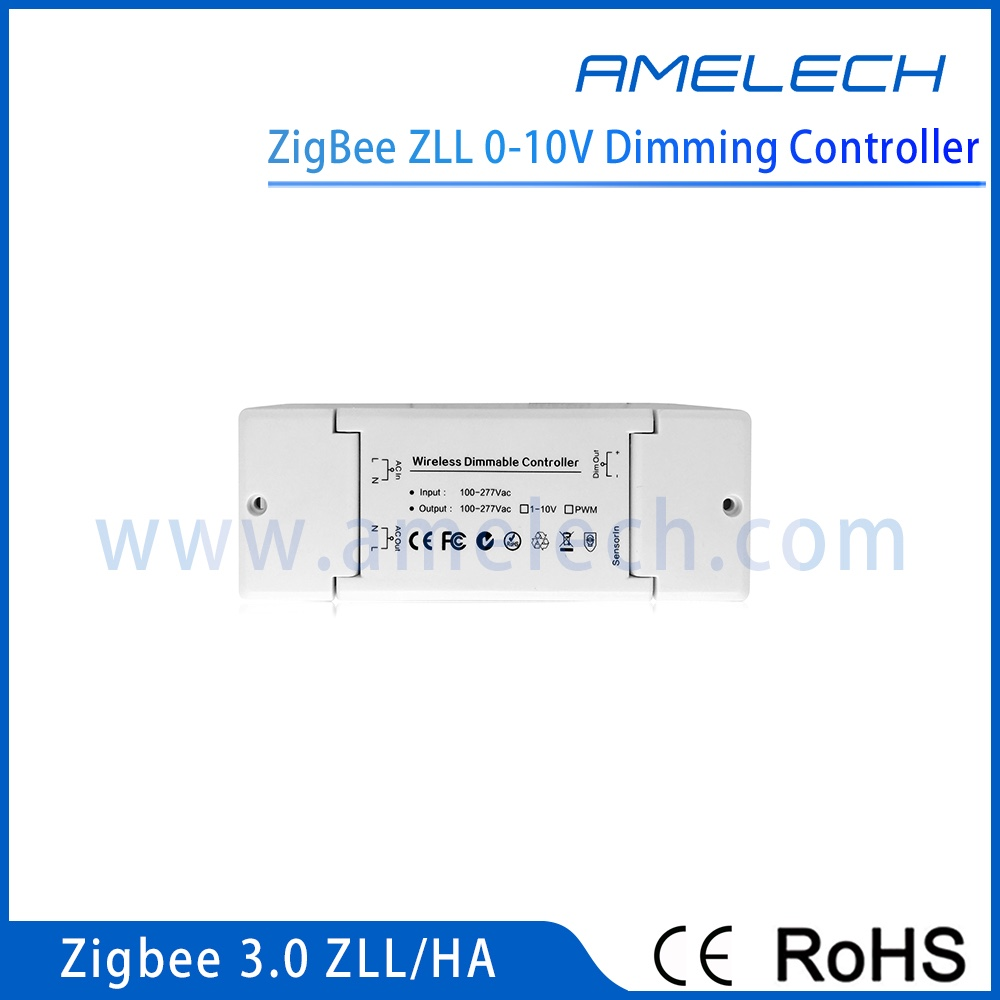 shenzhen wireless zigbee zha zll smart home automation 0-10v led dimmer controller 220v