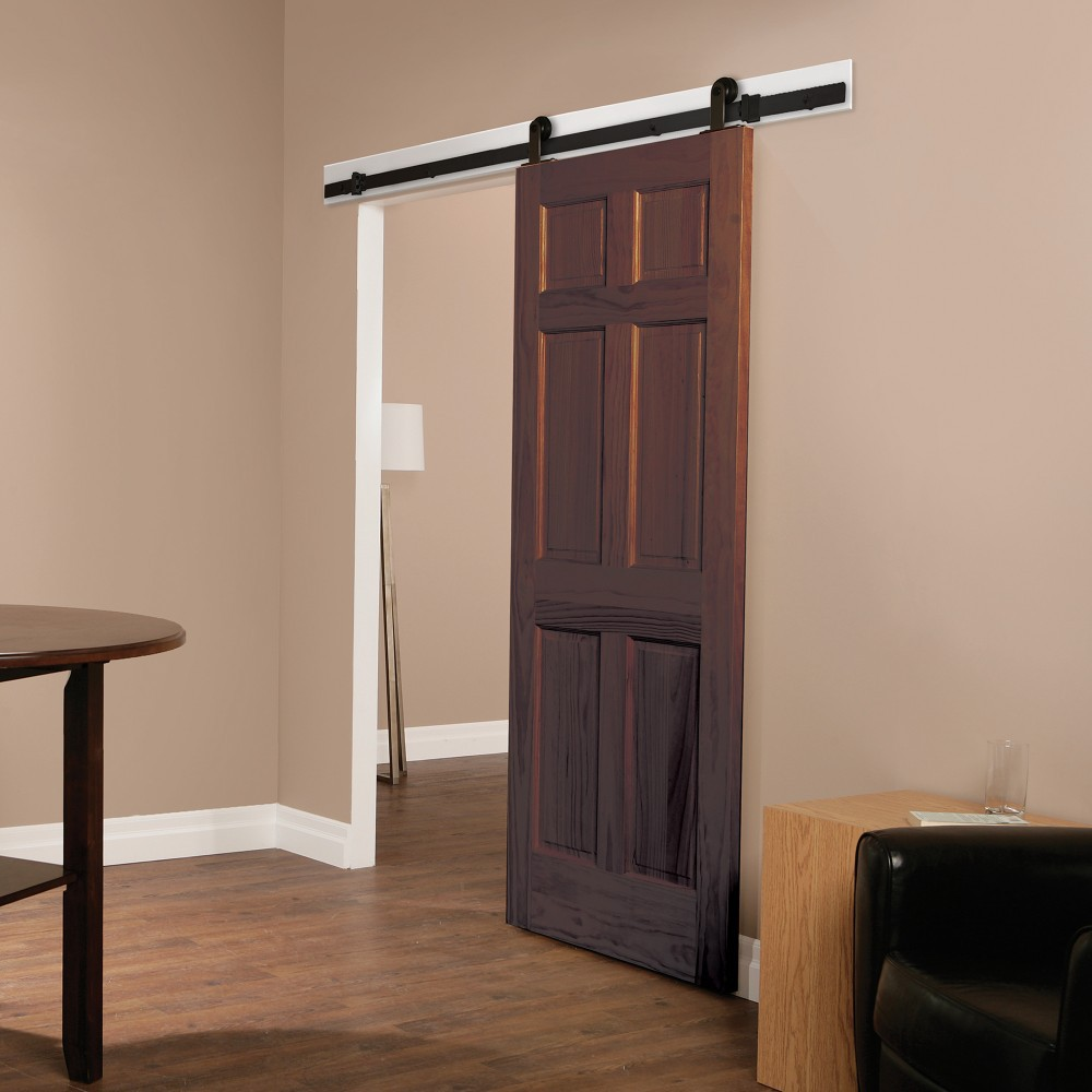 Rustica Barn Doors Wood Exterior Doors Quiet Sliding Doors