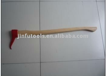 axe with wooden handle,hand sappre,hook axe for wood