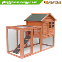 Natural Wood House Pet Supplies Small Animals House Rabbit Hutch