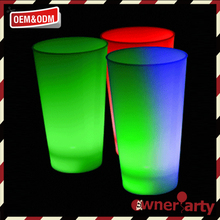 Widely used designer customized led glowing cup