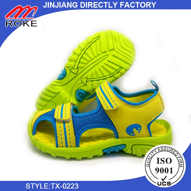 Boy Child Closed Toe Sport Walking Sandal Shoes Flat Casual Summer Beach Sandals