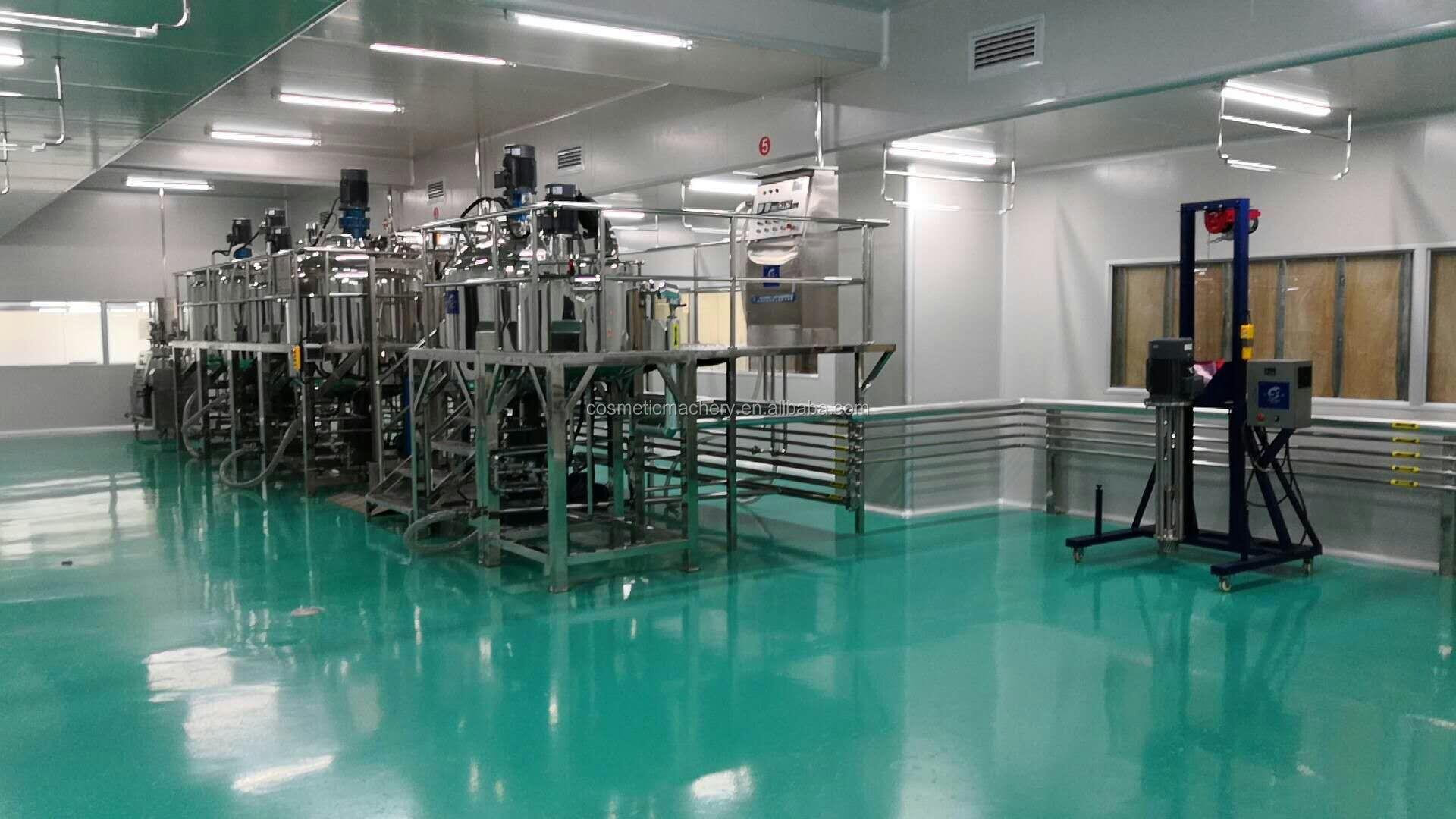 Certificat CE/savon liquide/shampooing/lotion mélangeur machine