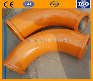 Schwing concrete pump 90 degree elbow/ taper bend DN180/150, Schwing concrete pump spare parts