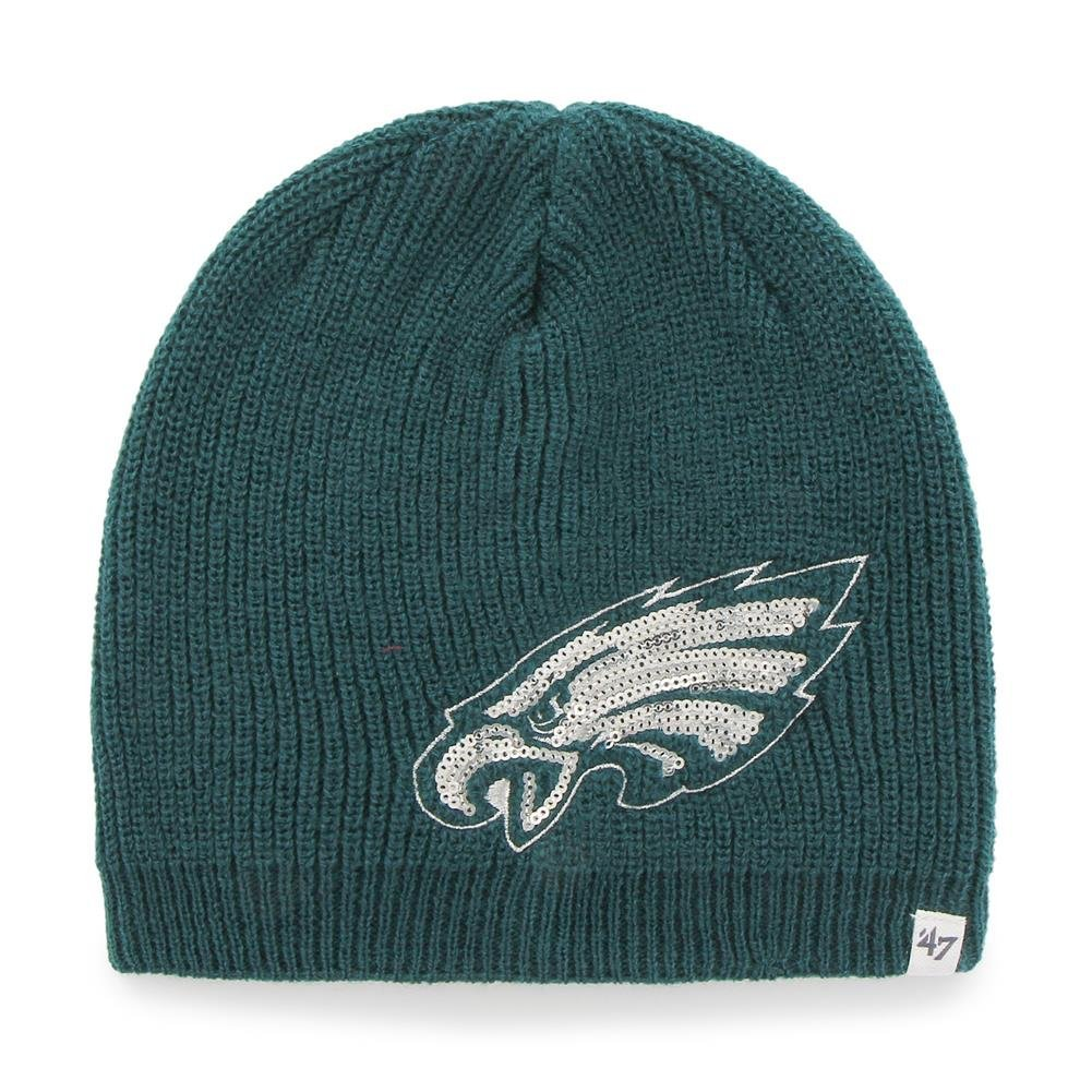 c2ff3b6677c Get Quotations · Women s Philadelphia Eagles Sparkle Beanie Cap