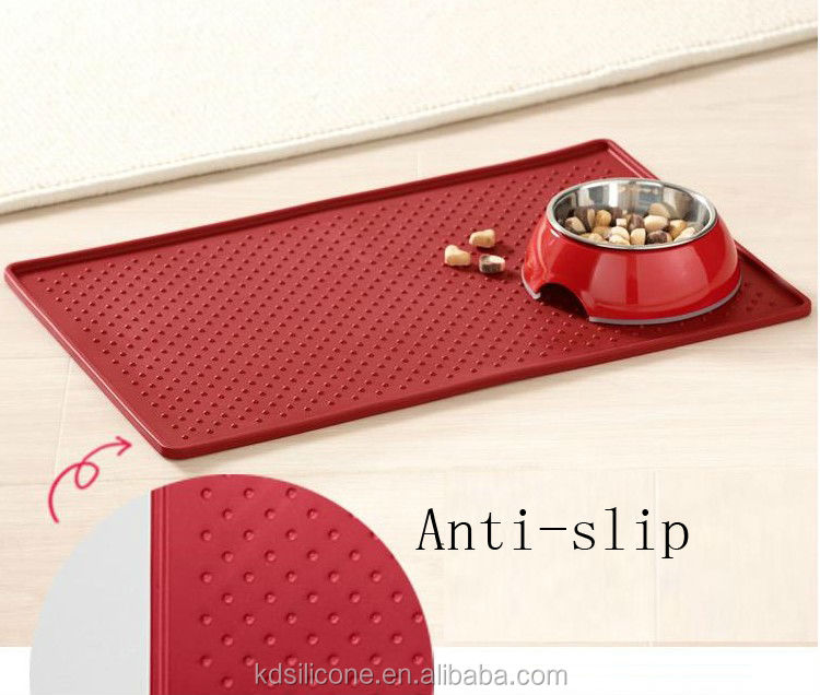 Feeding Mat For Pet Bowls,Food Mat For Cat Or Dog,Silicone ...