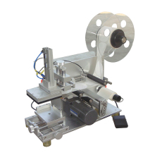Tafel top semi auto label applicator fles <span class=keywords><strong>draagbare</strong></span> <span class=keywords><strong>etikettering</strong></span> machine