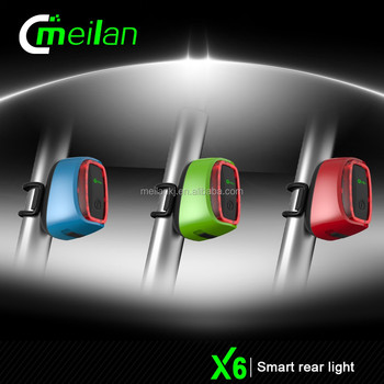 Dynamo Powered Licht E Fiets Led Verlichting Meilan X6 Intelligente ...