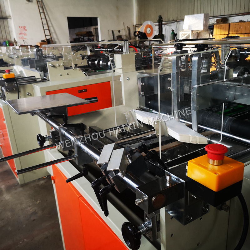HX-ZH Een Tijd Fast Food Papier Lunchbox Making Machine