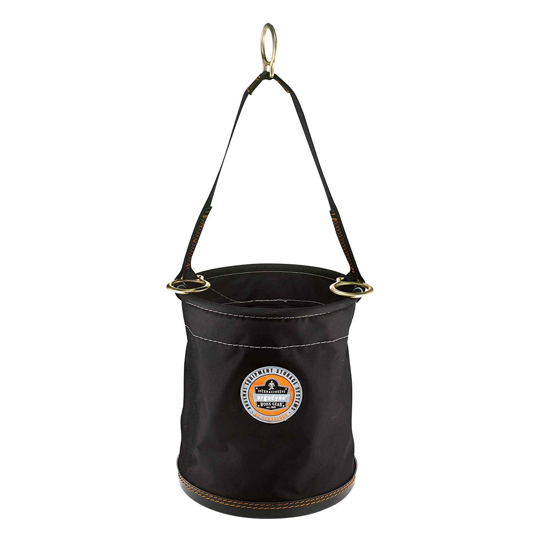 Ergodyne - 5653 Black Synthetic Plastic Bottom Bucket - D-rings