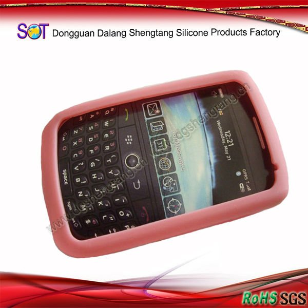 Cheap Silicone Mobile Phone Cover for Blackberry9000