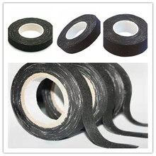 high voltage adhesive backed carbon stretch fabric tape