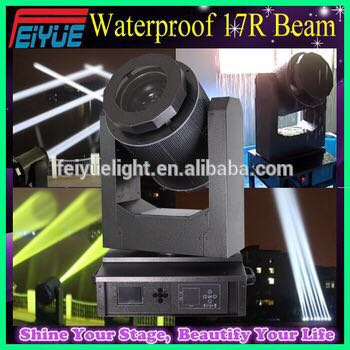 Good Quality China Factory High Power Sharpy 350W 17R Beam IP55 Rainproof Waterproof Outdoor Moving Head Light