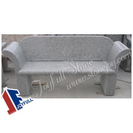 Jard n de granito gris sof banco en venta bancos para el for Bancos de granito para jardin