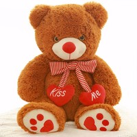 Customized Plush Stuffed Valentine Gift Animal Toy