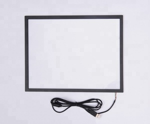 15/17/19/21.5/24/27/32/40/42/43/50'' touch screen multi touch screen frame for koisk infrared touch overlay for LED monitor