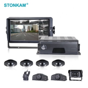 1080P 8CH school bus mobile dvr with 3G/4G/WIFI/GPS tracking technology