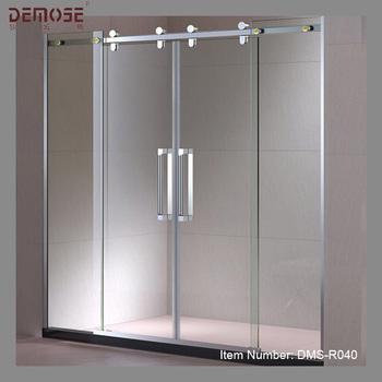 Corredera autom tica vidrio templado armario puerta for Puerta corredera automatica vidrio