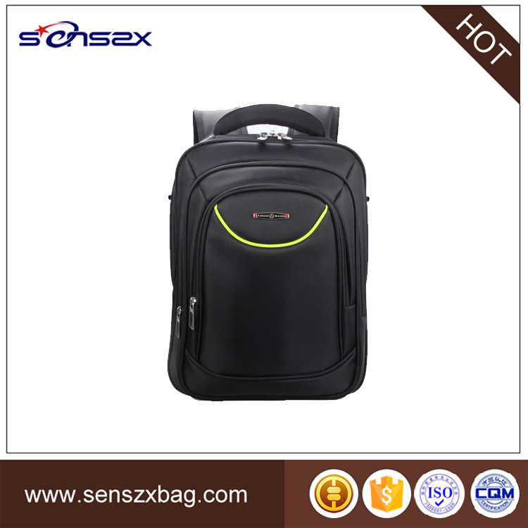 2017 lastest reflective stripe laptop bags high quality fashion backpack