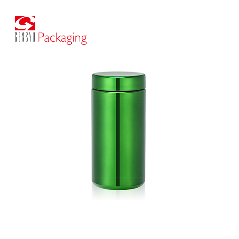 Multi-functional 13oz HDPE Green Plastic Bottles