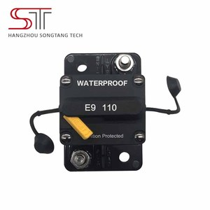 E98 110A Waterproof dc circuit breaker switch waterproof for caravan