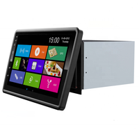 The new 360/rotation 10.1-inch universal DVD Android WIFI navigation integrated all-touch DVD