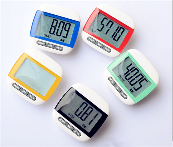 Step Movement Calories Counter Multi-Function Digital Pedometer