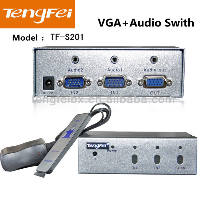 Hot sell 570MHz vga selector switch(TF-S201)