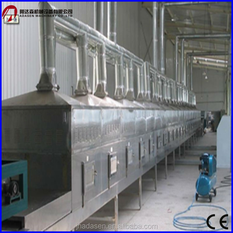 Continuous tunnel type microwave dryer for drying grain/nuts/core/rice/wheat/<strong>corn</strong>
