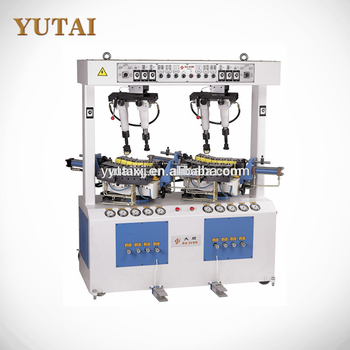 Hydraulic Walled Sole Attaching Machine For shoes Used to Glue and bind hight-edge shoe soles