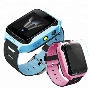 Y21 Kids GPS Tracker Watch Kids Smart Watch with Camera Flash Light Touch Screen SOS Call Location Finder for Child