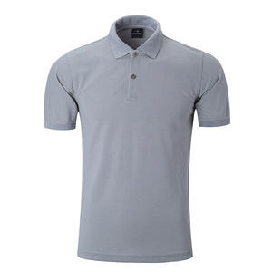 Men Polo T Shirts 100% Cotton Customized Logo GaoJiFuShi