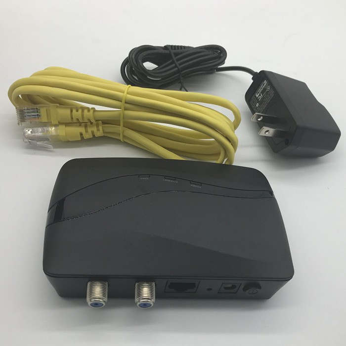 internet access moca 2 0 modem adapter over coax with rf. Black Bedroom Furniture Sets. Home Design Ideas