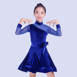 8ced7c459 Red Salsa Latin Kids Girls Ballroom Dancing Dresses Wholesale, Dresses  Suppliers - Alibaba