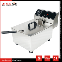 Newest Commercial Electric Deep Fryer 1 Tank 1 Basket Made in China with CE Certificate