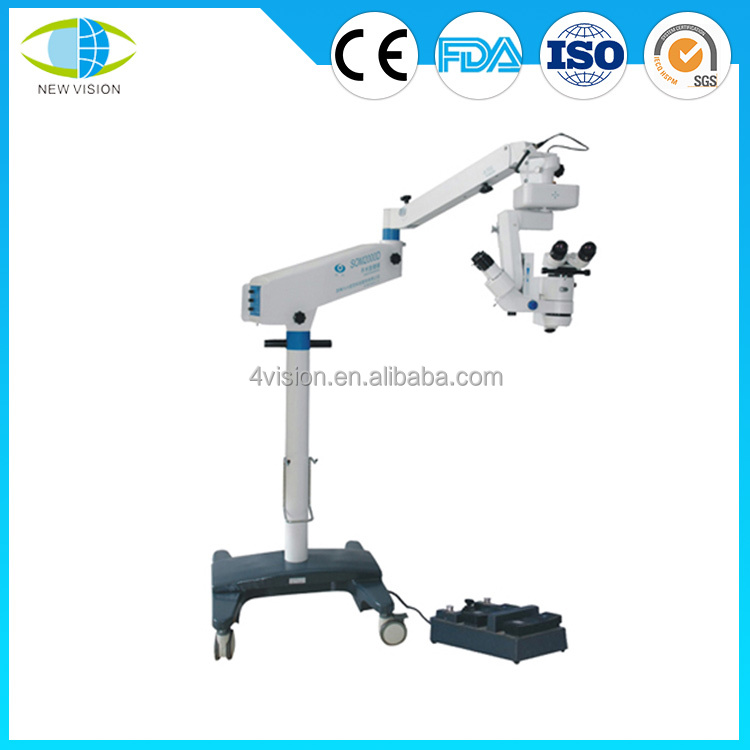 Zoom Operation Microscope Surgical Microscope for Ophthalmology with CE & FDA