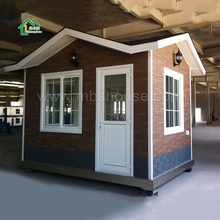 Factory supply customized Sandwich Panel Prefabricated Guard House, villa, sentry box, house, hotel, shop, office