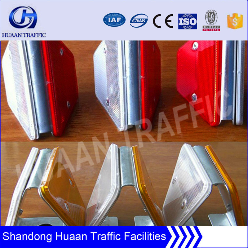 Alumminum road reflector for highway