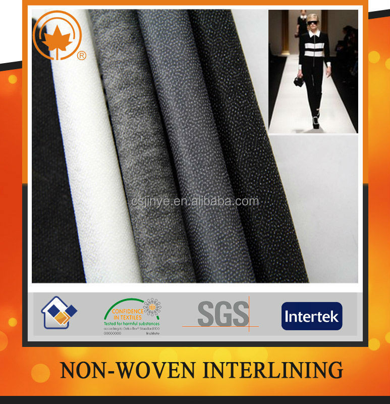 High quality non woven fusible interlining 1025hf