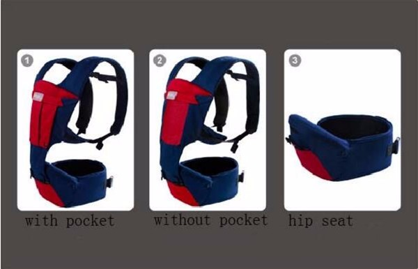2018 Hot sales ergonomically designed for Security and Safety baby waist hipseat baby carrier, kids waist stool,baby hip seat
