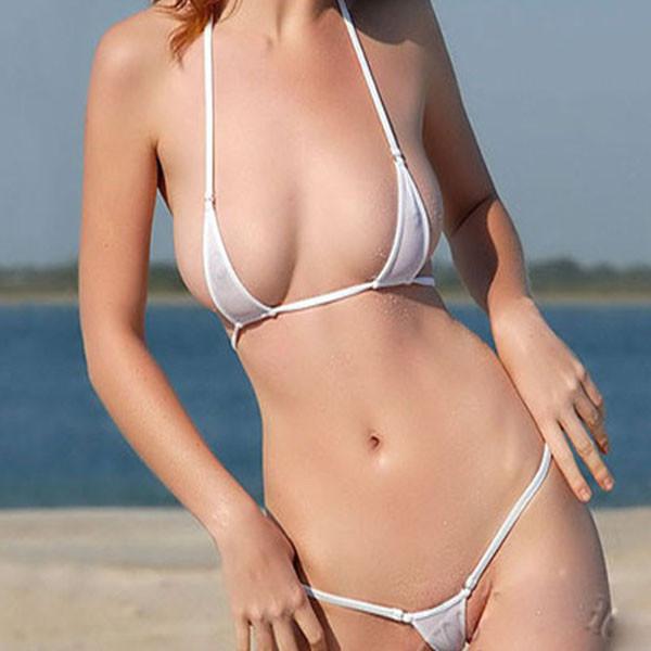 2 sexy japanese micro bikini tease 5