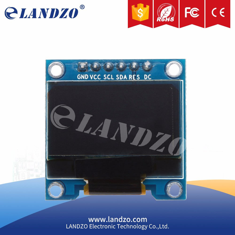 electronic board 12864 L ED For Arduino 2.7 x 2.8cm Resoluti on 128 x 64 arduino 0.96 Inch SPI OLED Display Module