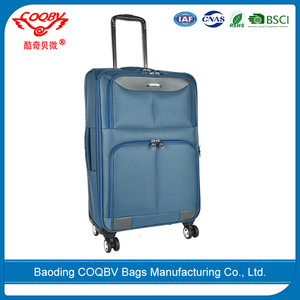 COQBV 2017 wholesale commercial popular design your own suitcase