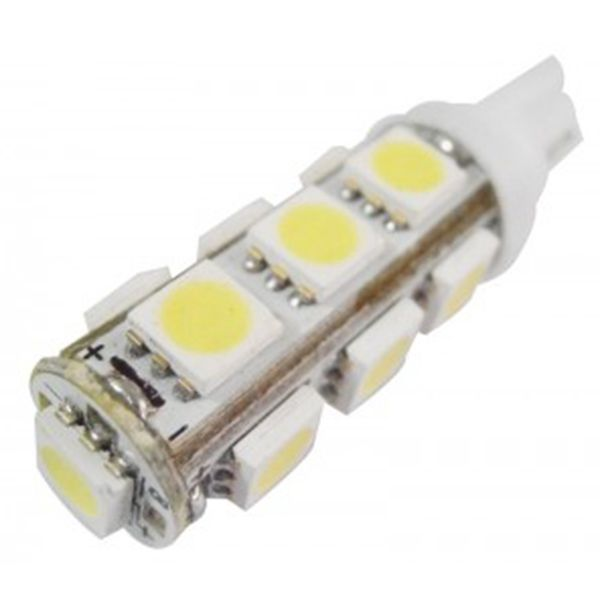 Car Accessory Universal Used 12v T10 Led Light Bulb Dimmable