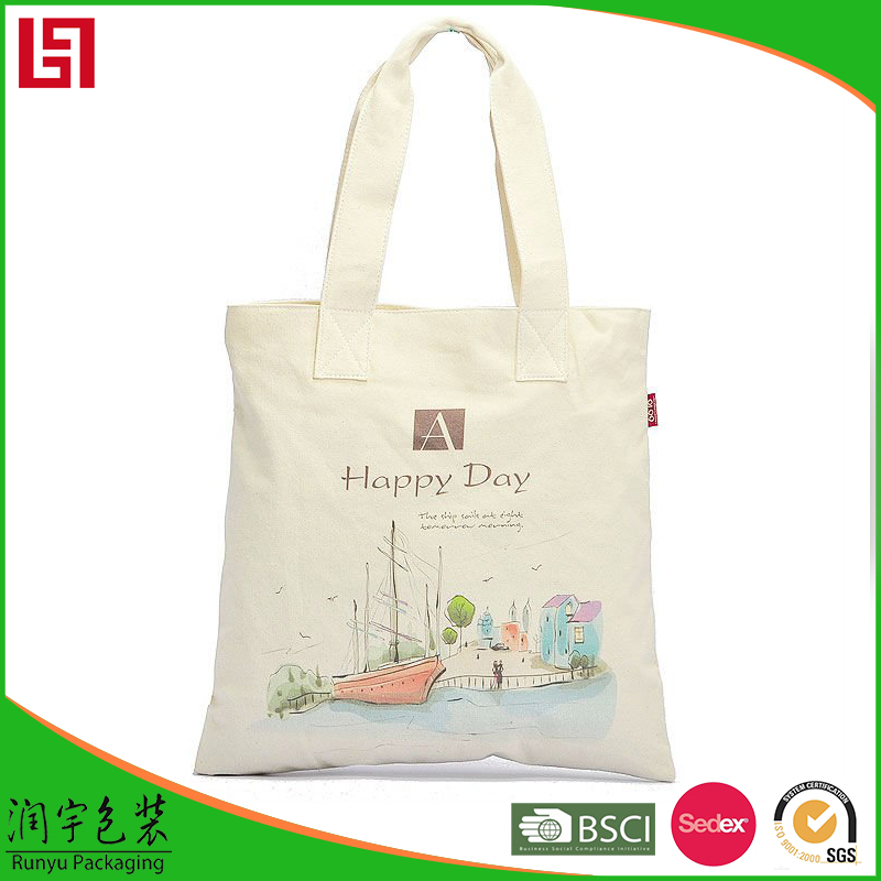 TOP10 Factory Directly ODM And OEM Customized 12oz cotton canvas tote bag