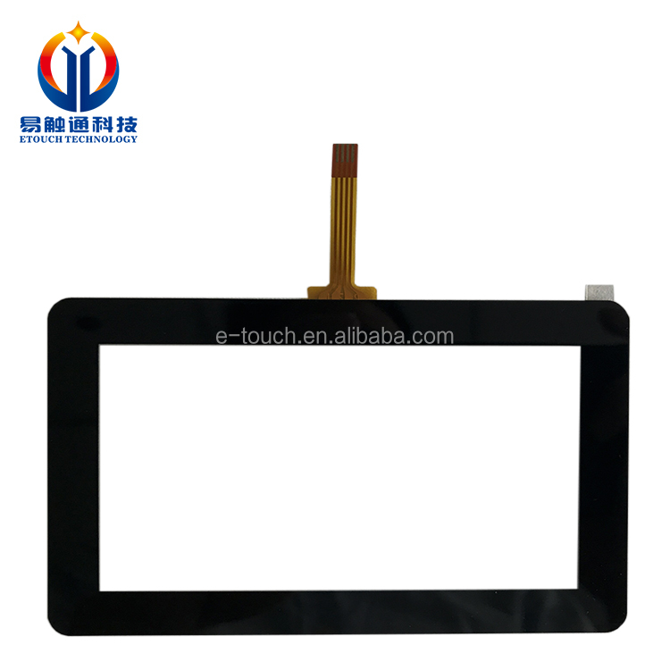 Industrial Touch screen 7 inch transparent Resistive Touch control panel